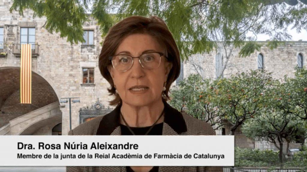 Proves diagnòstiques per a la detecció de la covid-19, per l'Excma. Sra. Dra. Rosa Núria Aleixandre, Acadèmica Numerària de la Reial Acadèmia de Farmàcia de Catalunya.