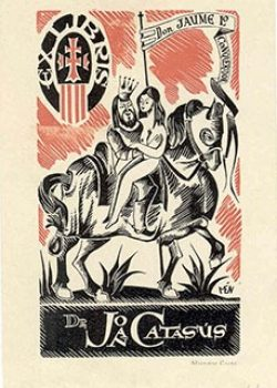 Exlibris de Joan Catasús.
