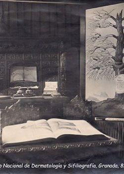 1936, 8-10 juny - Expositor al II Congres Nacional de Dermatologia y Sifilografia, Granada.