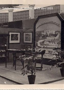 1933, 16-22 abril - Expositor al XIV Concilium Ophthalmologicum, Madrid.