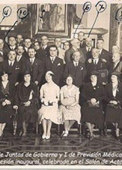 1932 IX Assemblea de Juntes de Govern y I de Previsió Mèdica Nacional, La Coruña.