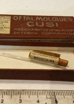 Oftalmoloides- Un dels productes que es fabricava de Figueres